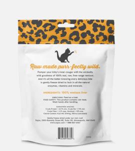 Sojos Natural Cat Venison Liver Treats