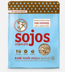 Sojos Complete Puppy Food Turkey & Salmon Recipe