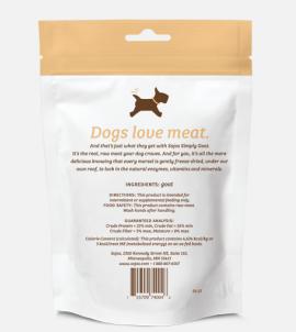 Sojos Simply Goat Dog Treats