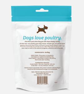 Sojos Simply Turkey Dog Treats