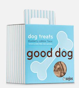 Sojos Good Dog Treats Blueberry Cobbler