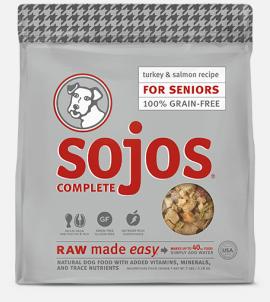 Sojos Complete Senior Food Turkey & Salmon Recipe