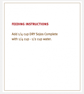 Sojos Complete Dog Food Beef Recipe Trial Size