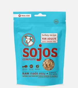 Sojos Complete Dog Food Turkey Recipe Trial Size